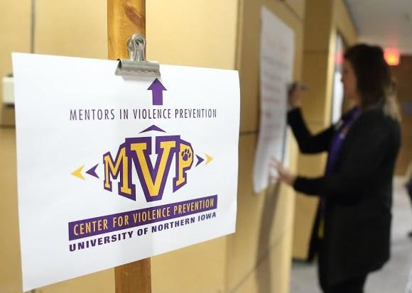 Mentors in Violence Prevention Session